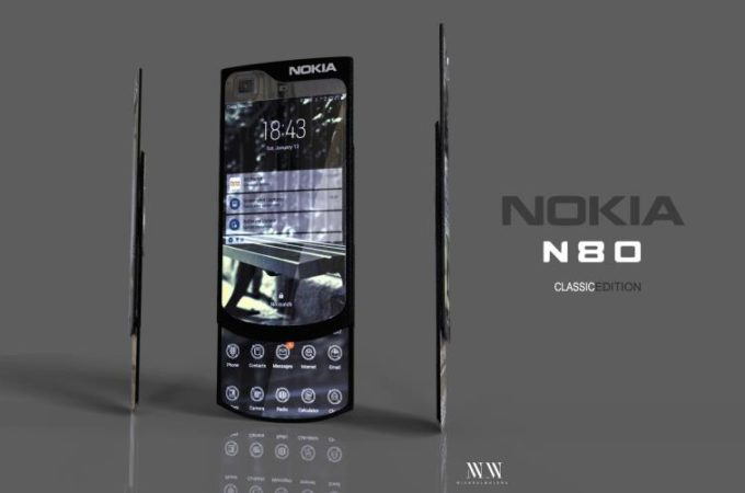 Nokia N80 Gets Re-Invented in 2018