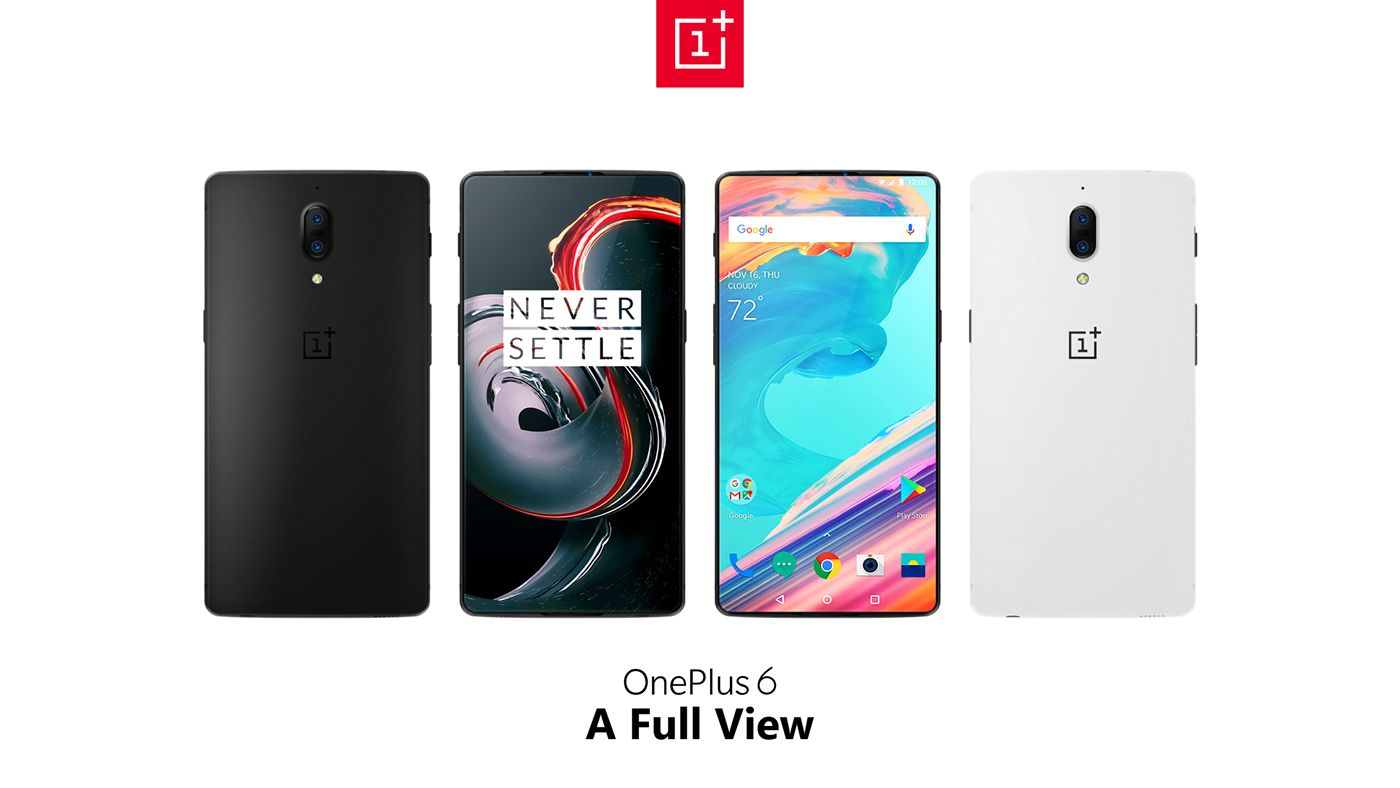 OnePlus 6 Loses Its Edges, Not Its Edge With This Render ... One Plus 6
