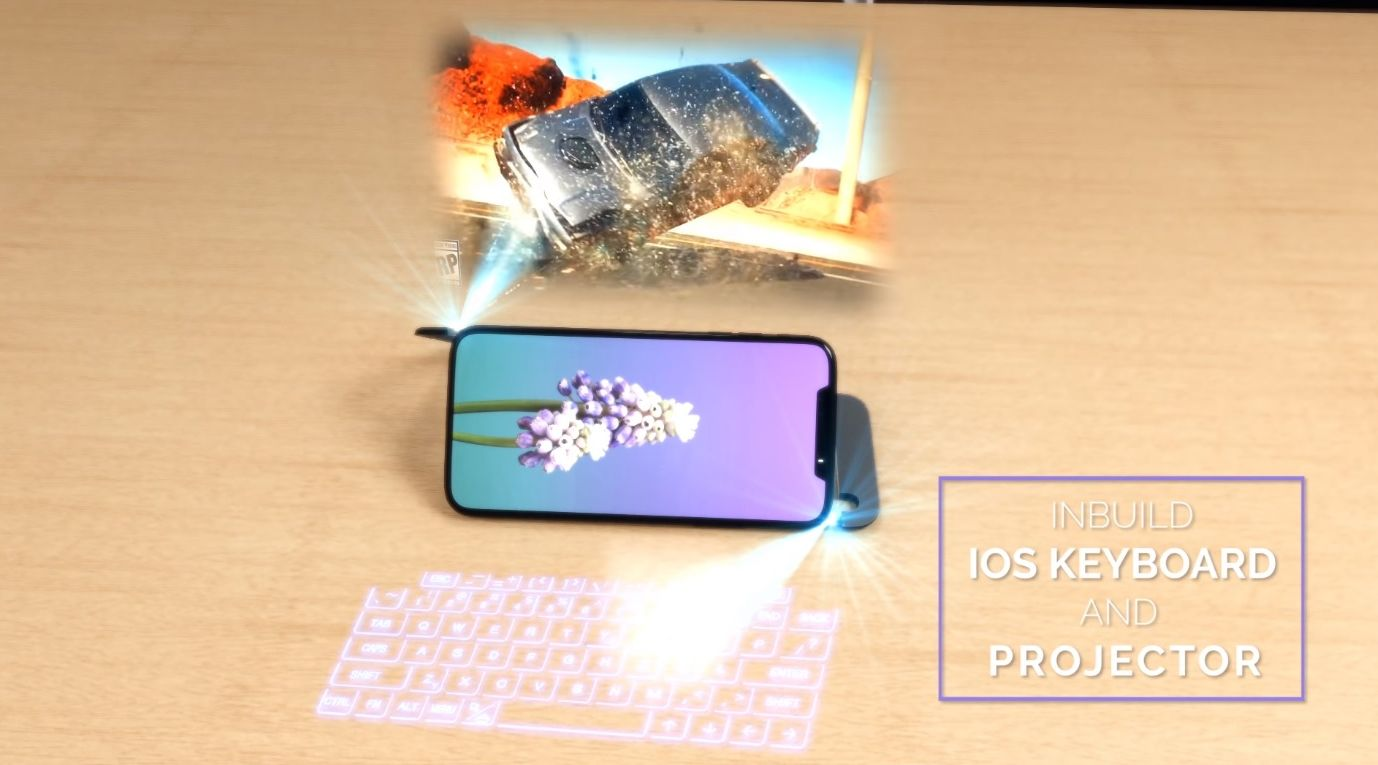 Iphone Xi Gets A 3d Hologram Keeps Face Id Video Concept Phones