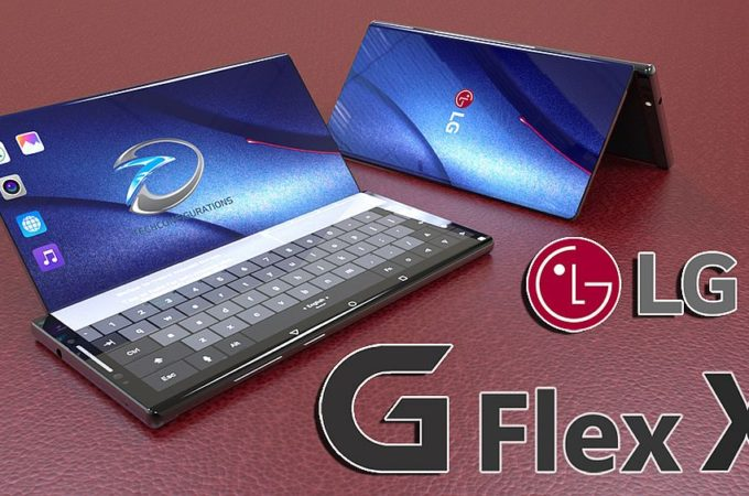 LG G-Flex X Smartphone Has a Fold-Out Keypad for Laptop ...