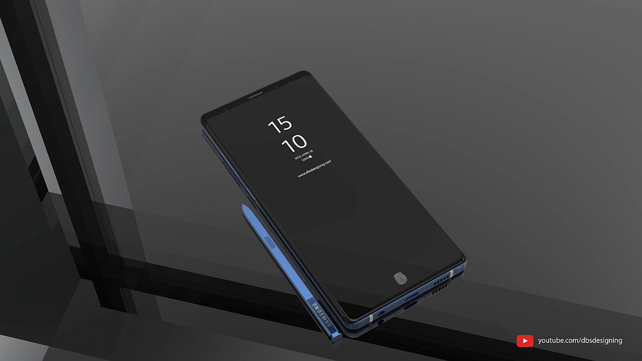 Samsung Galaxy Note 9 Is the Next Galaxy, With Colorful ...
