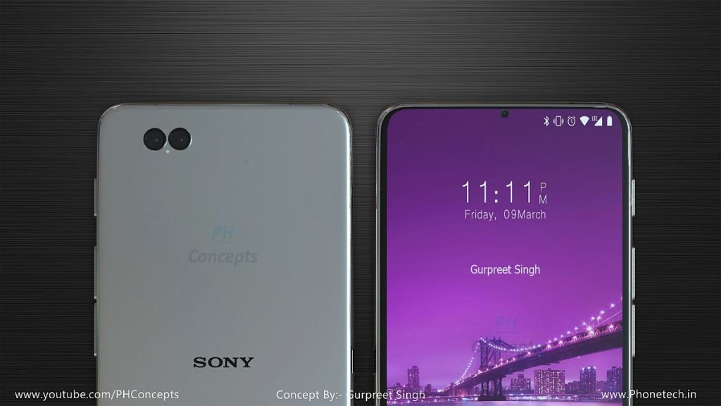 Sony Xperia R6 Goes Dual Camera Has A Sleek Profile Concept Phones