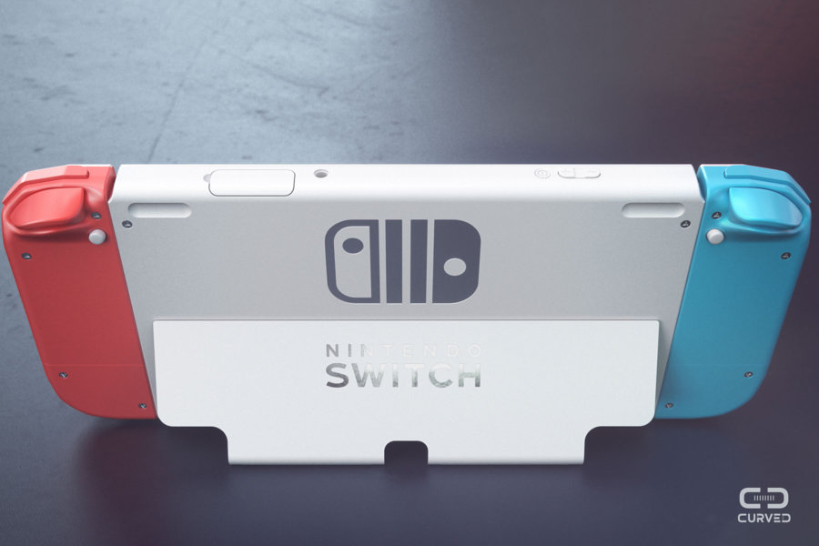 Nintendo Switch 2 Gets Rendered by Curved/Labs (Video ...