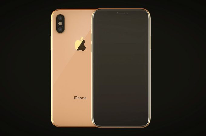 Iphone X Blush Gold Is Happening At Least In Render Form Concept