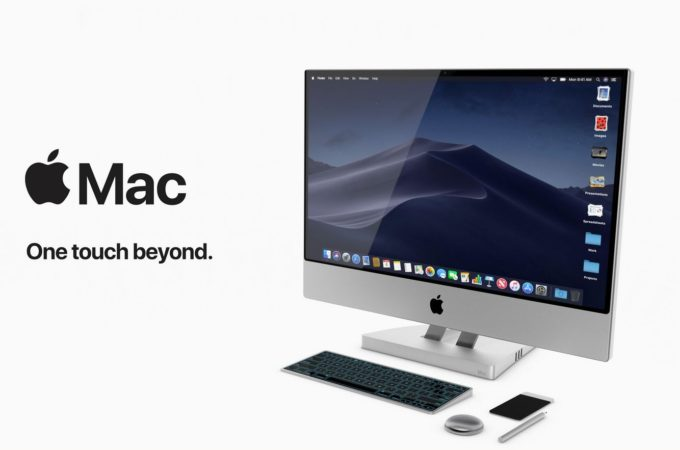 Apple Mac Touch Concept Is The Ultimate All In One Pc With