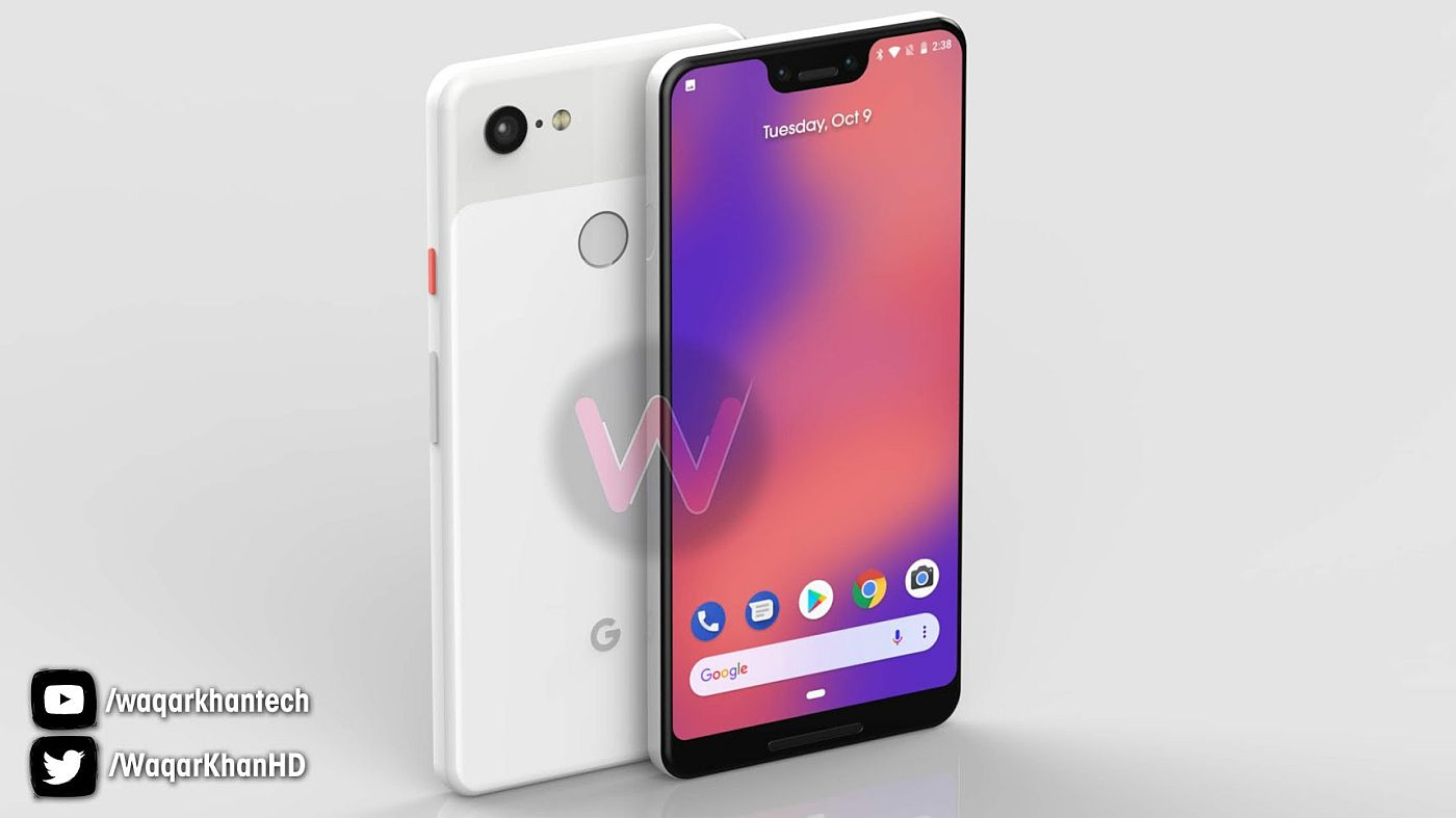 Pixel 3 XL Pops Up In 3 New Colors, Courtesy of Waqar Khan ...