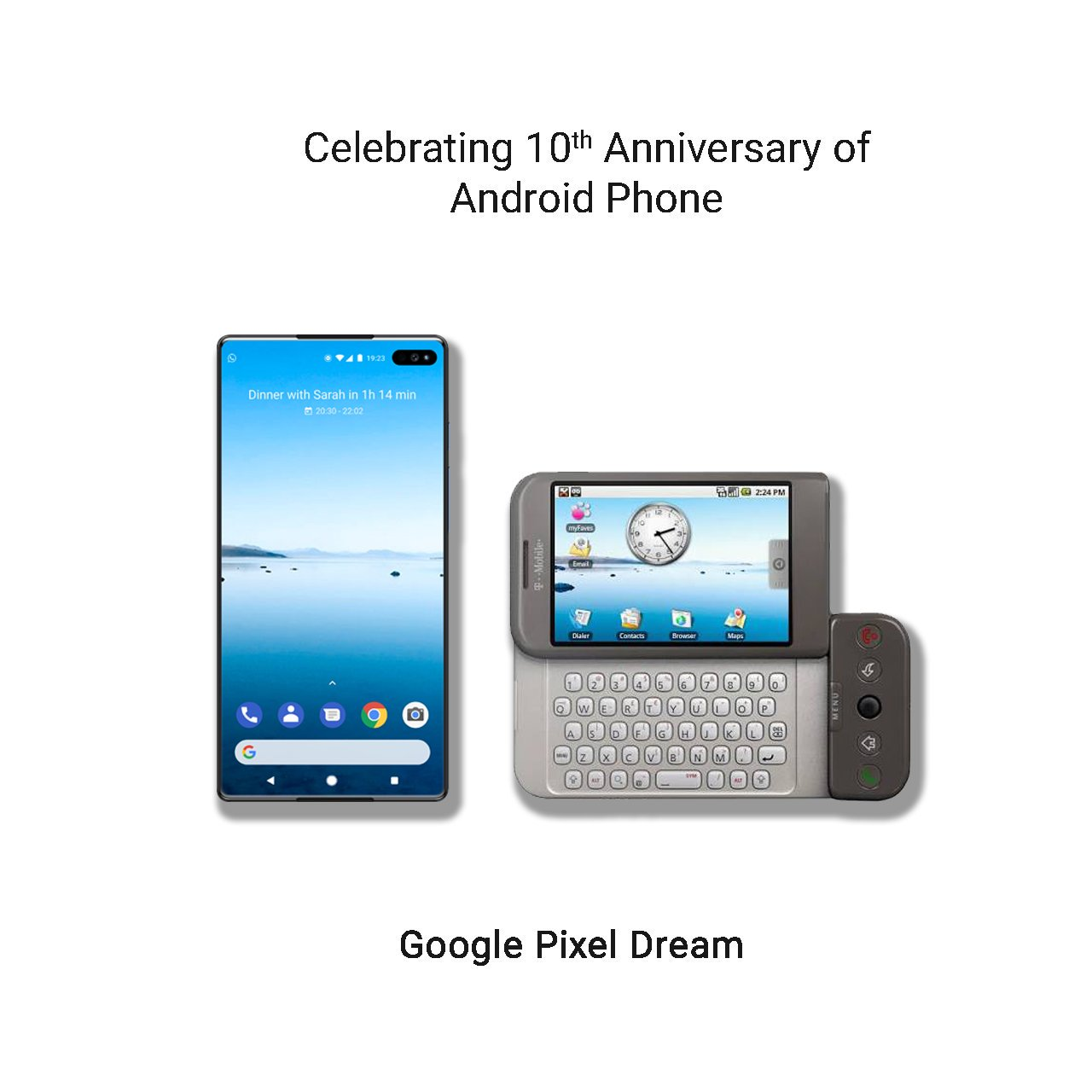What does the phone dream about
