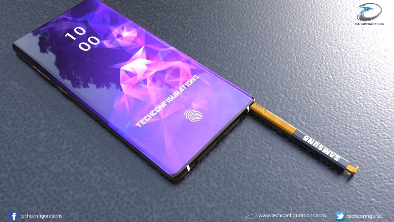 Samsung Galaxy Note 10 Gets An Introduction Video Triple Camera