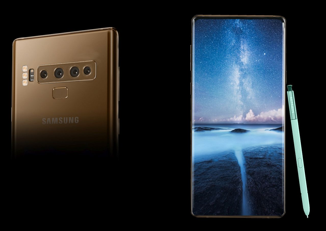 Samsung Galaxy Note 10 Gets 4 Cameras And 3 Led Flashes In This