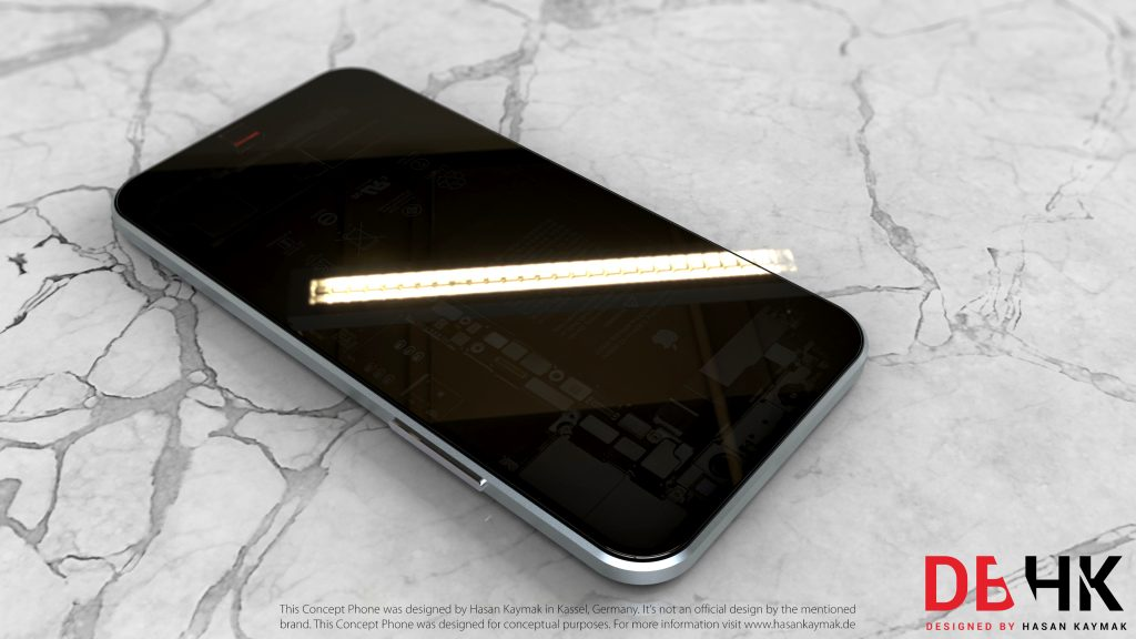 Apple iPhone TS Concept by full screen OLED display - SP Concept