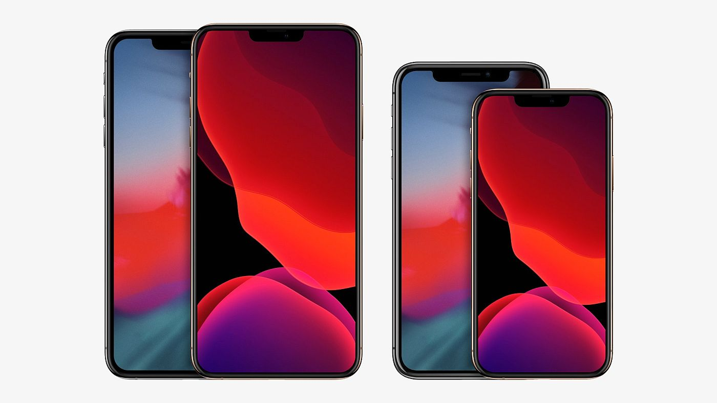 Iphone With 67 Inch And 54 Inch Screen Rendered 2020 Sp - 2020 iphone new model