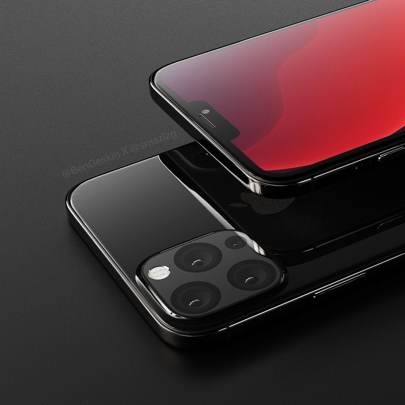 iPhone 2020 is Back in More Renders, Specs - Concept Phones