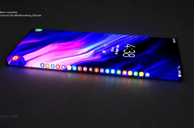 New Cell Phones 2020.Samsung Galaxy Edge Ii Is A 2020 Concept Phone With A Lot Of
